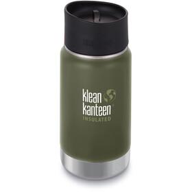 Klean Kanteen Wide Vacuum Insulated - Gourde - Café Cap 2.0 355ml vert